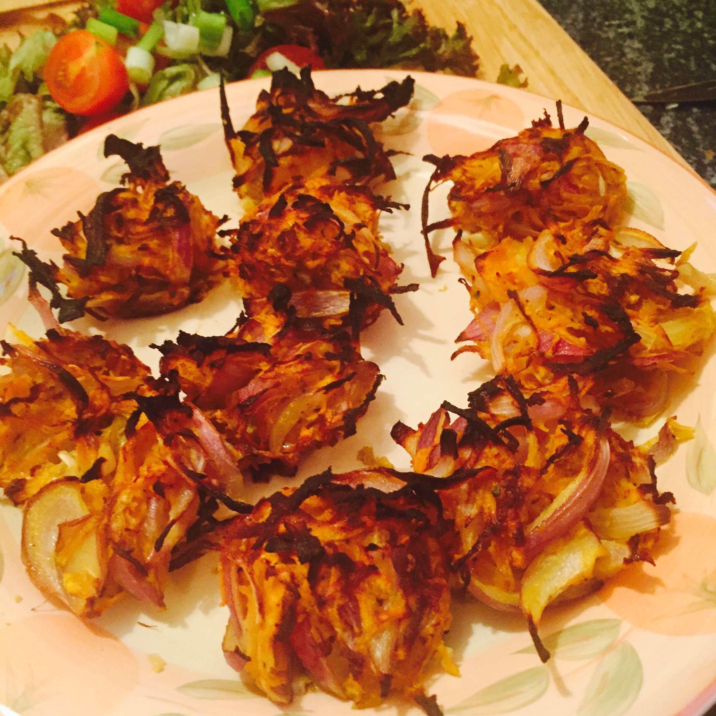 Onion Bhajis , Syn Free \u2014 Slimming Survival