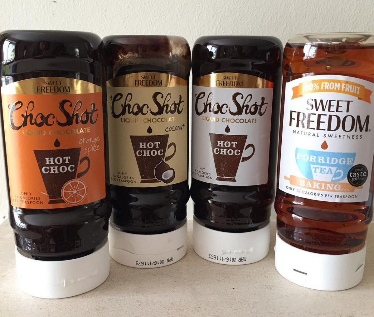 Sweet Freedom Fruit Syrup Choc Shot Review Half A Syn Of