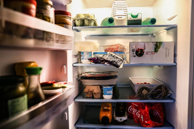 Step 3: Storing food -