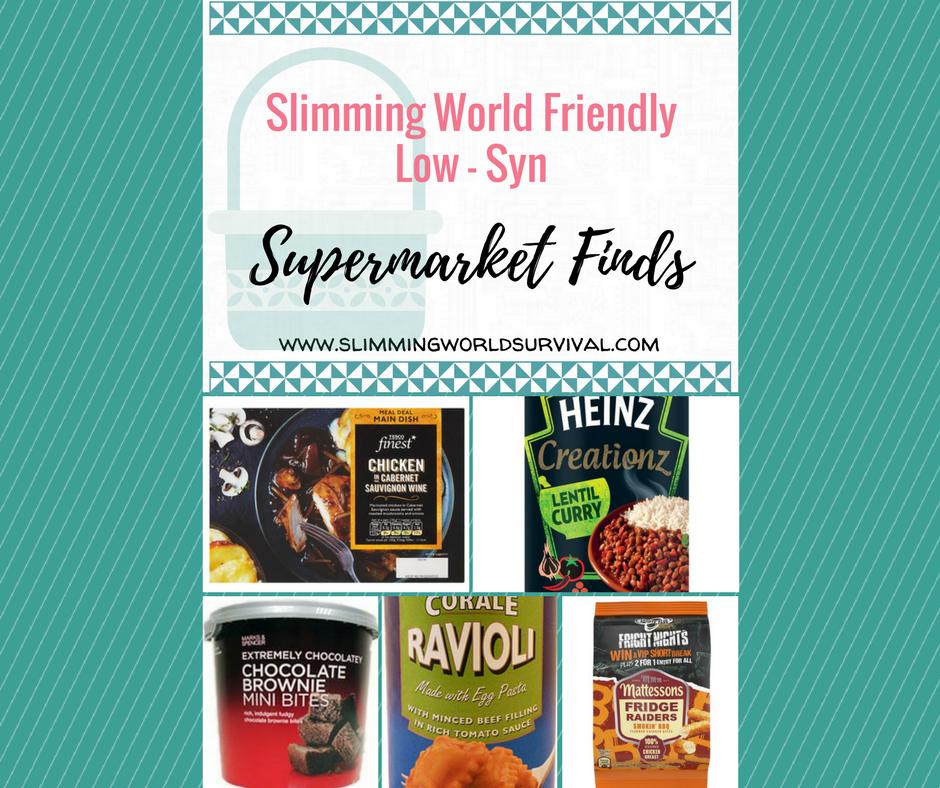 Low Syn Slimming World Suprmarket Finds