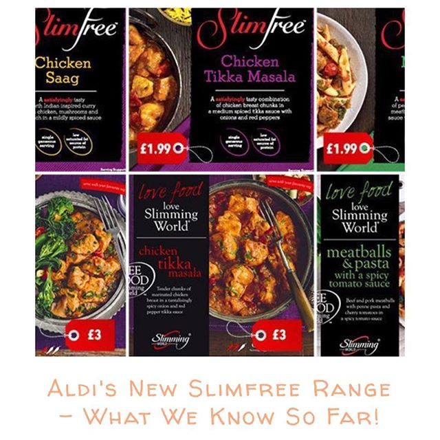 """Aldi have a new """"slimfree"""" range, and naturally the slimming world community have many questions. Find out what we know so far on my recent post at slimmingworldsurvival.com (link also in Bio!) #slimmingworld #swnews #swtips #slimmingworldmotivation #slimmingworldinspo #lowsyn #synfree #swaldi #aldi #swmafia"""