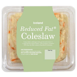 Iceland Reduced Fat Coleslaw