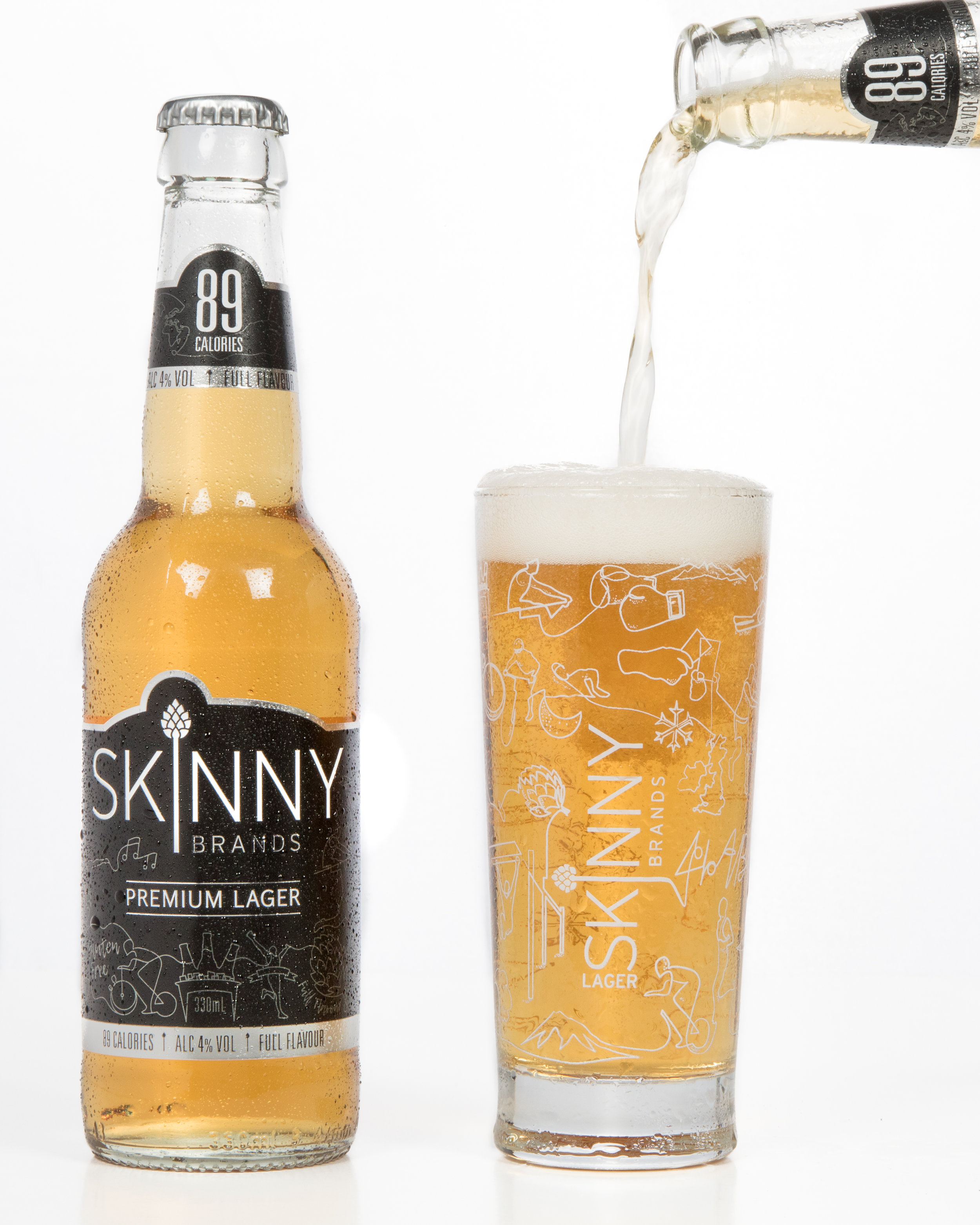Skinny Lager 4.5 syns