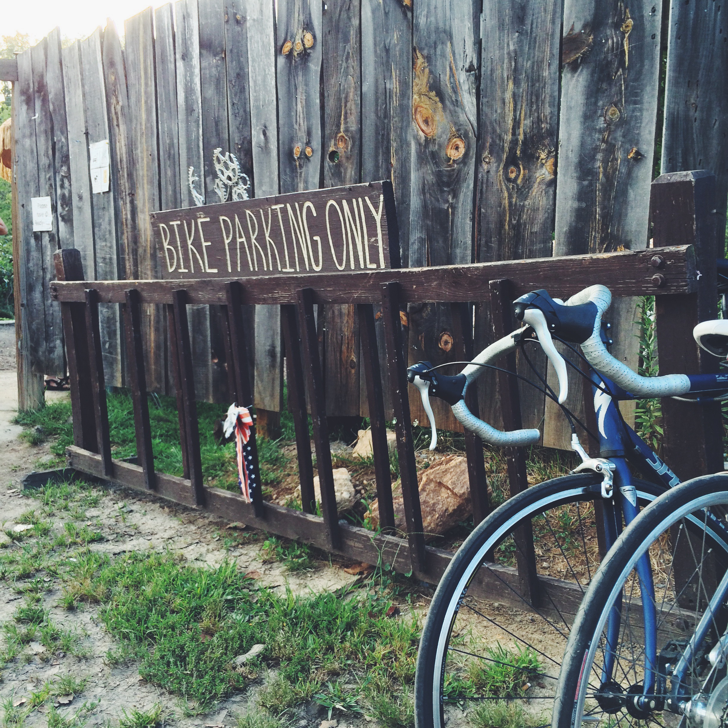 I biked from West Asheville to the River Arts District after our visit....