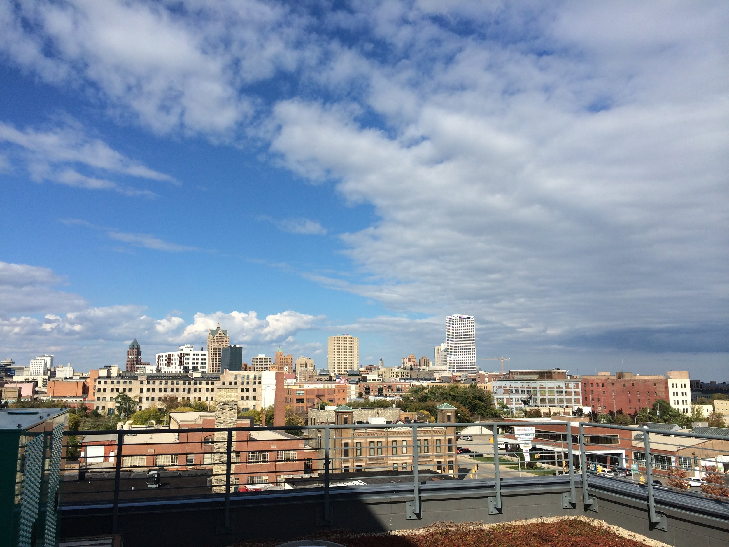 View from the rooftop at CORE El Centro