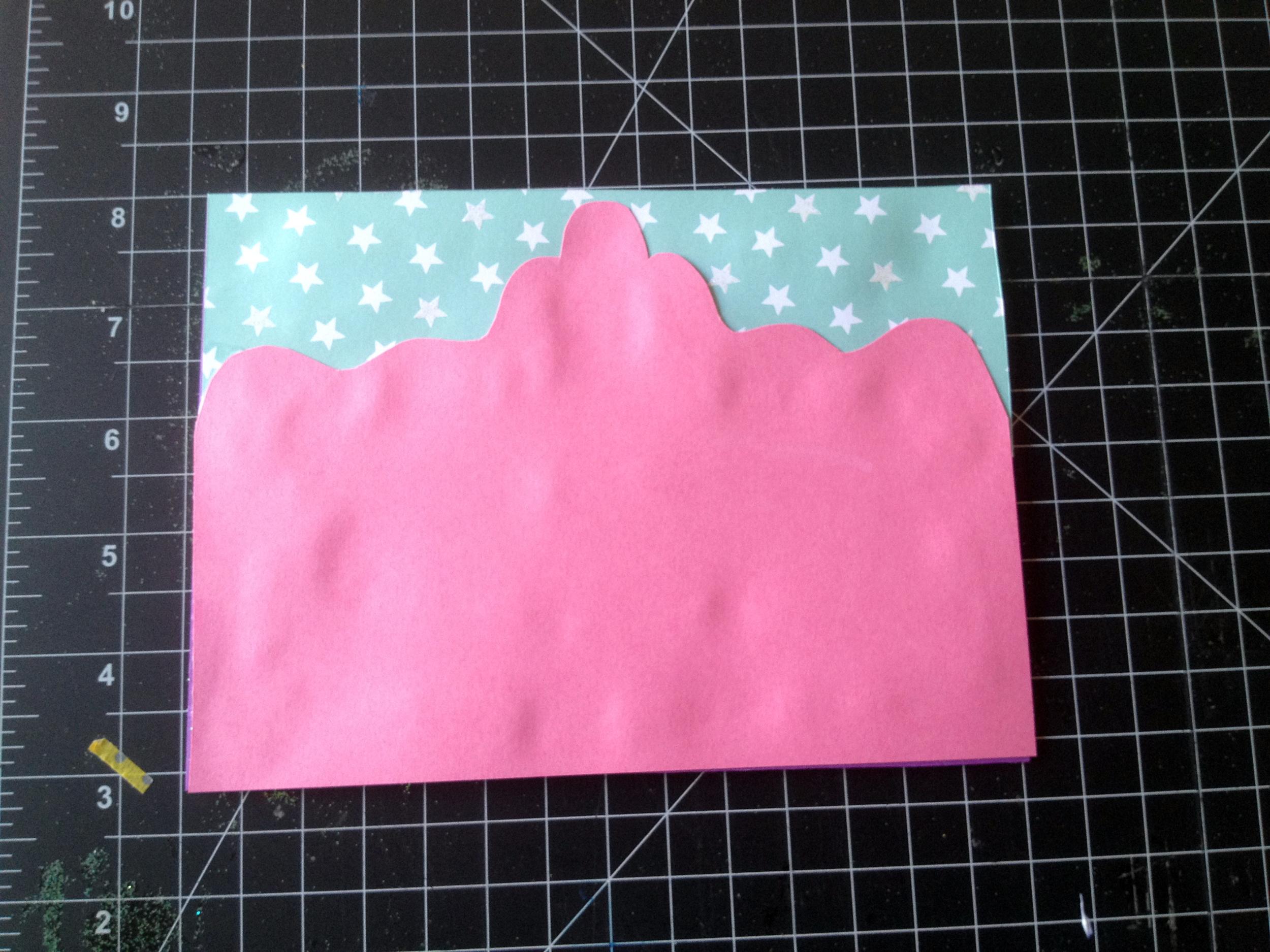 Princess card step 5