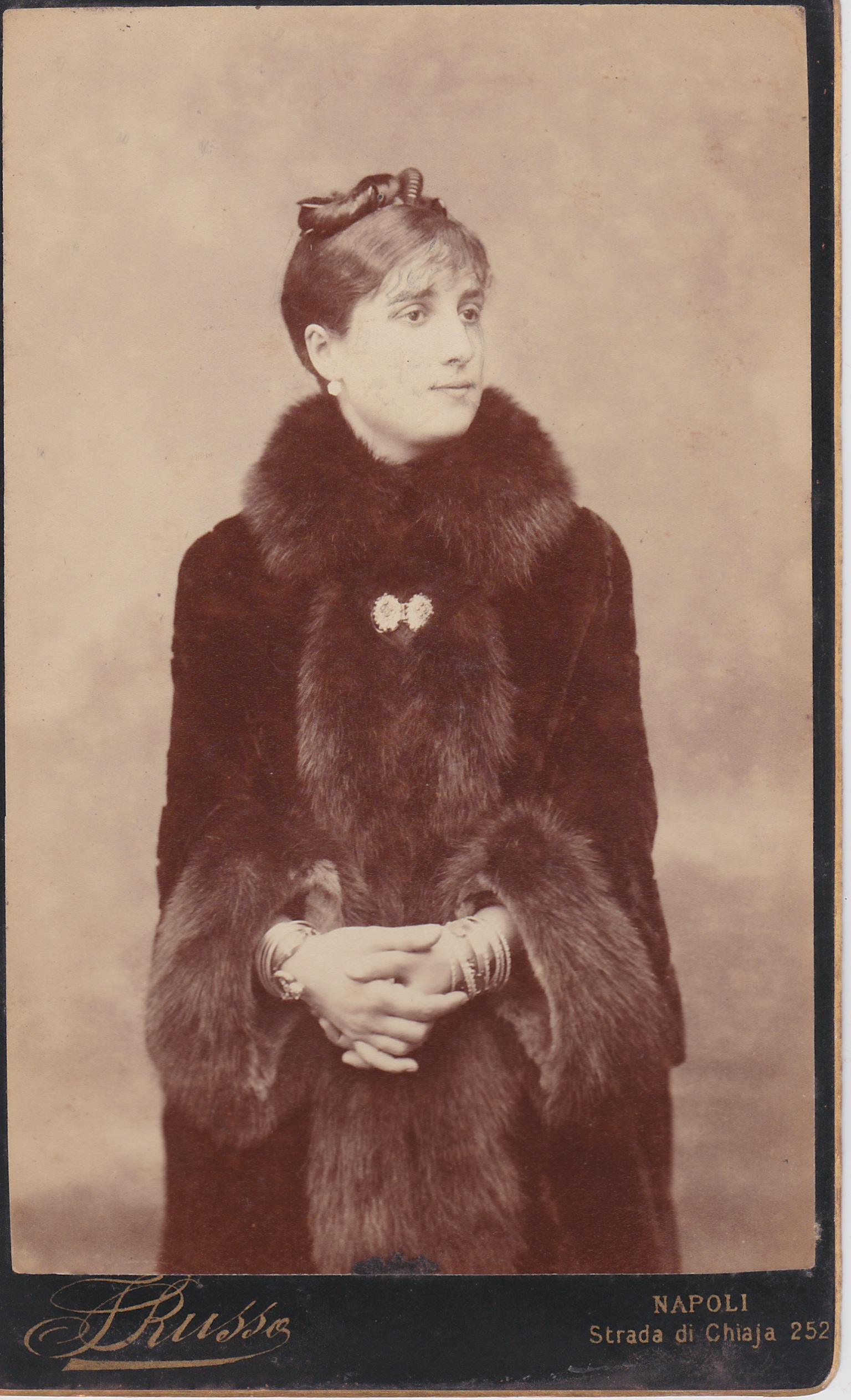My great-great-grandmother, Adele De Forcade.