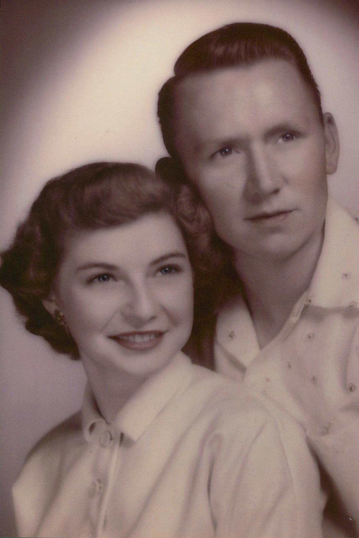 Gerald and Sadie Hardin in June 1953.