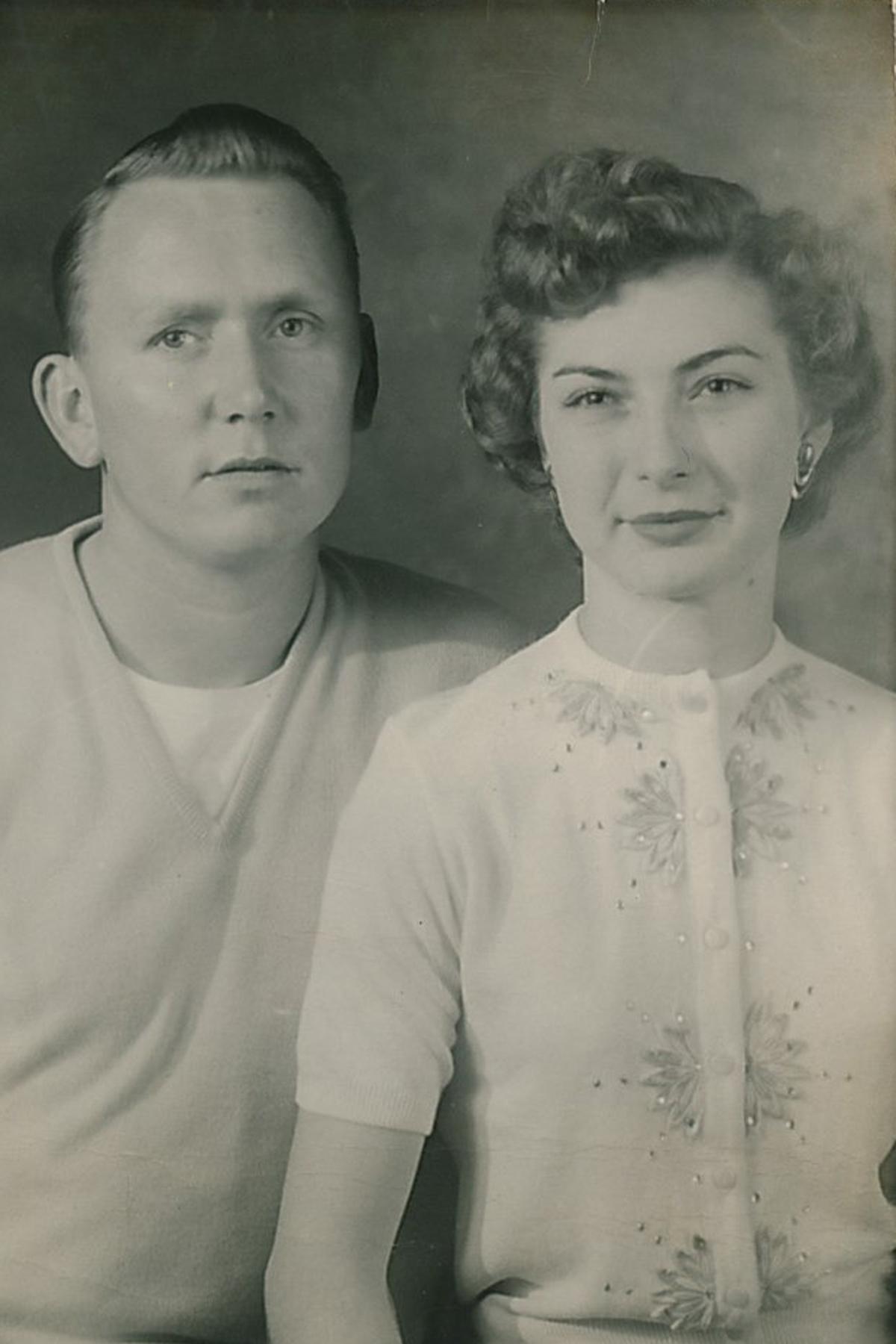 Gerald and Sadie Hardin.