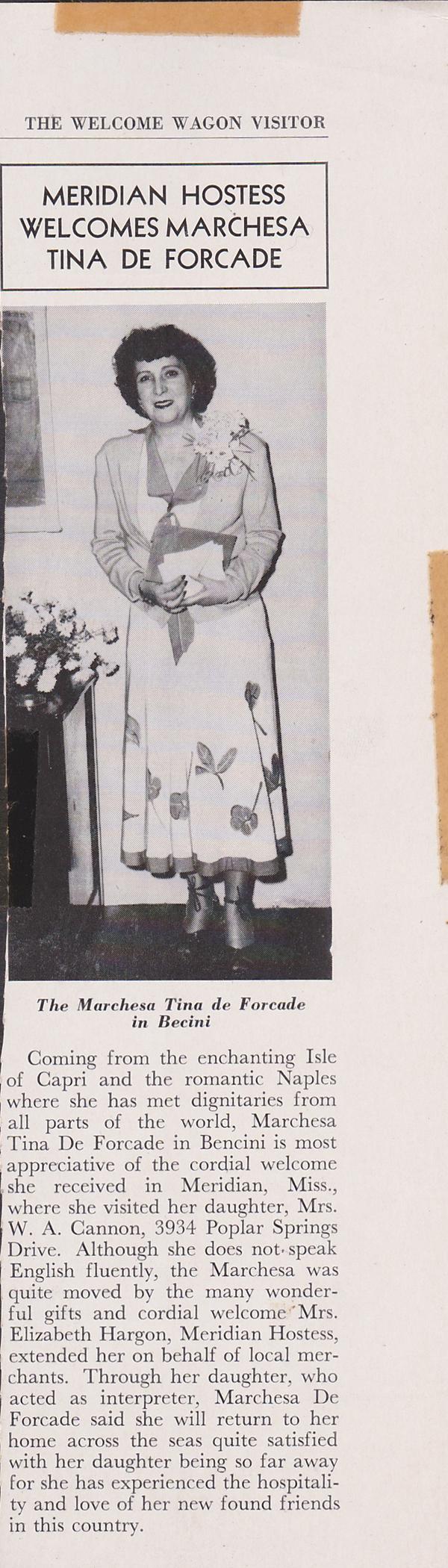 The Meridian Star , 1949