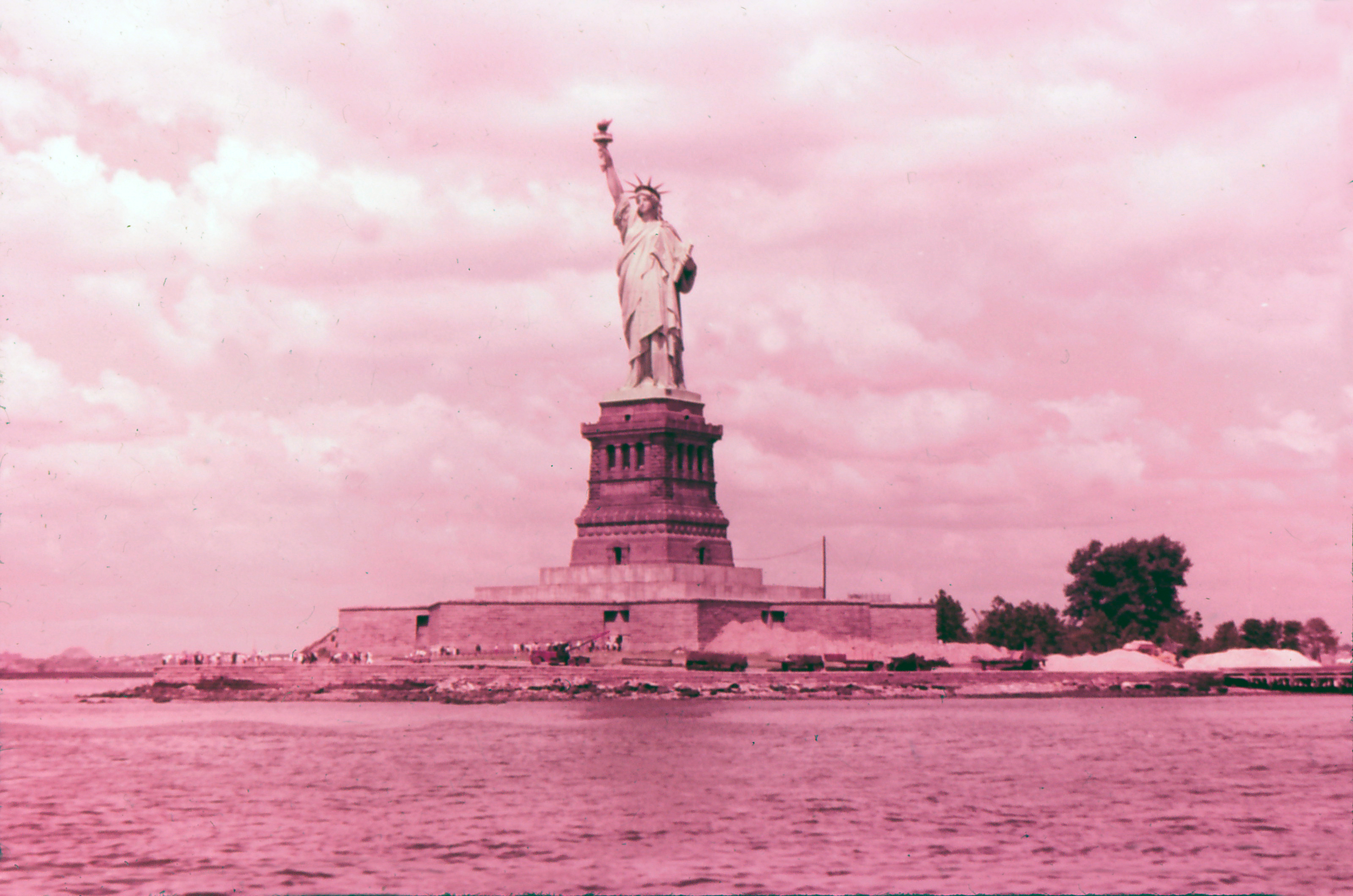 The Statue of Liberty, 1964.