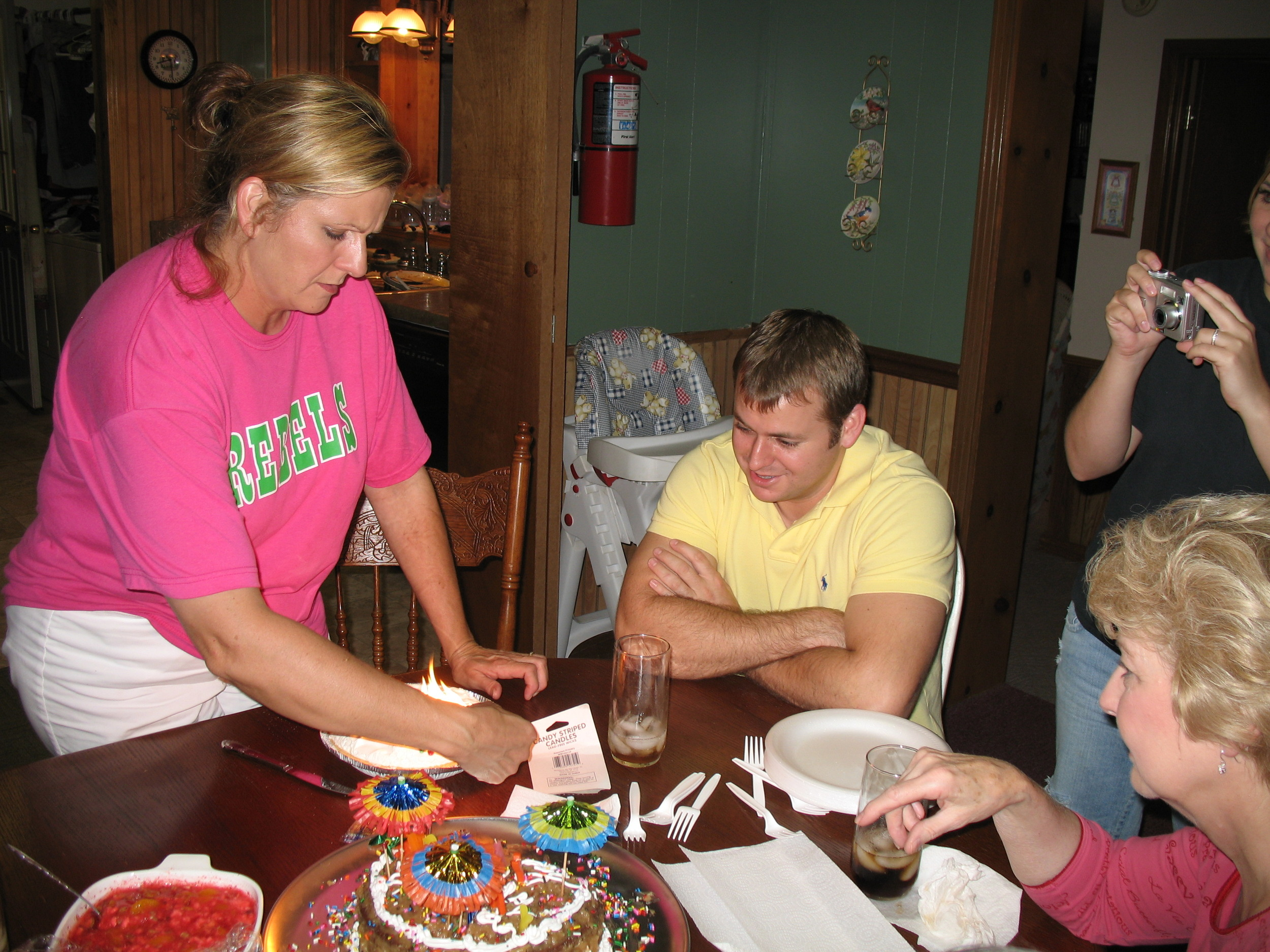 Denise, Jonathan and Sadie, July 7, 2006.