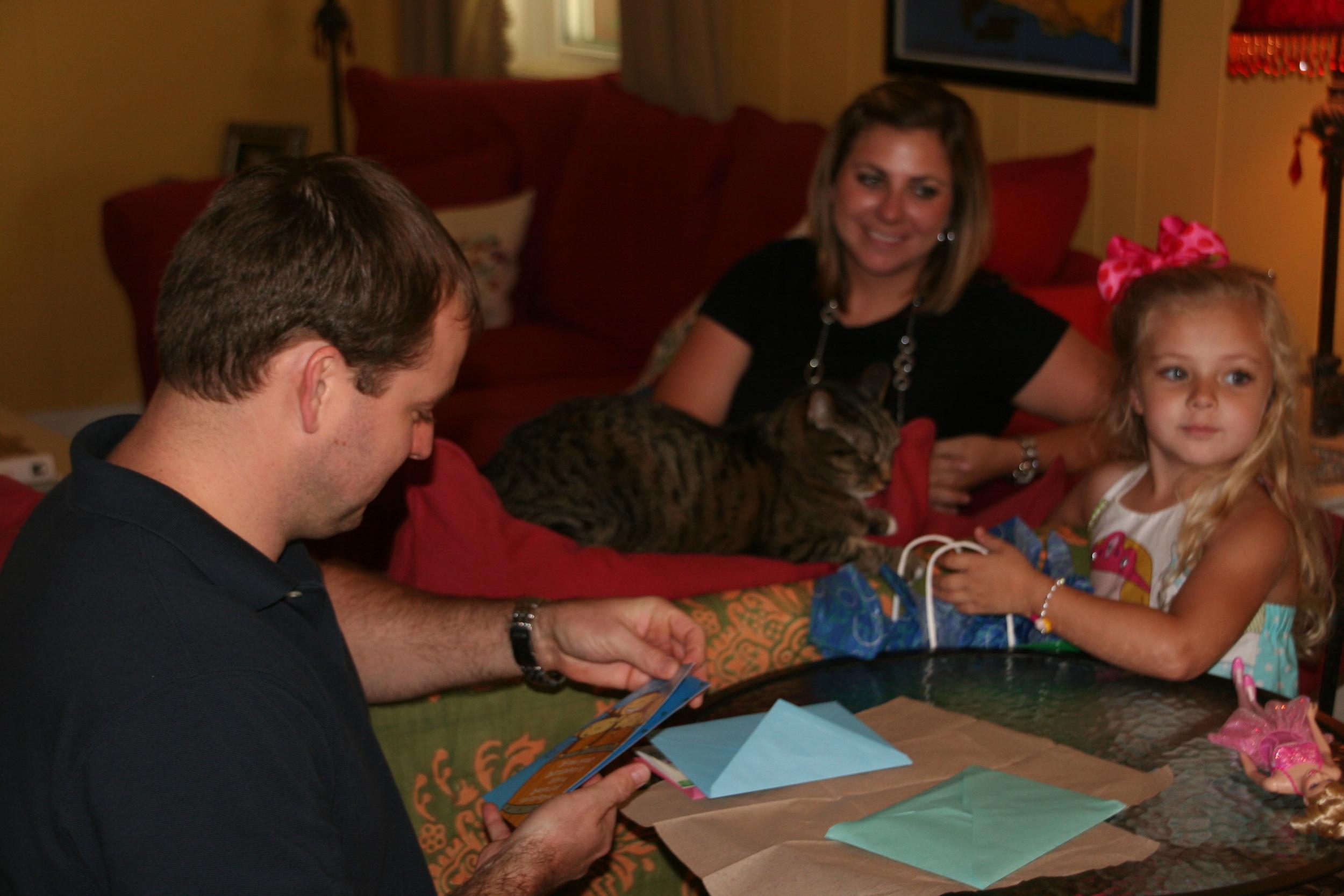Jonathan, Oliver, Julie and Eliza, July 7, 2010.