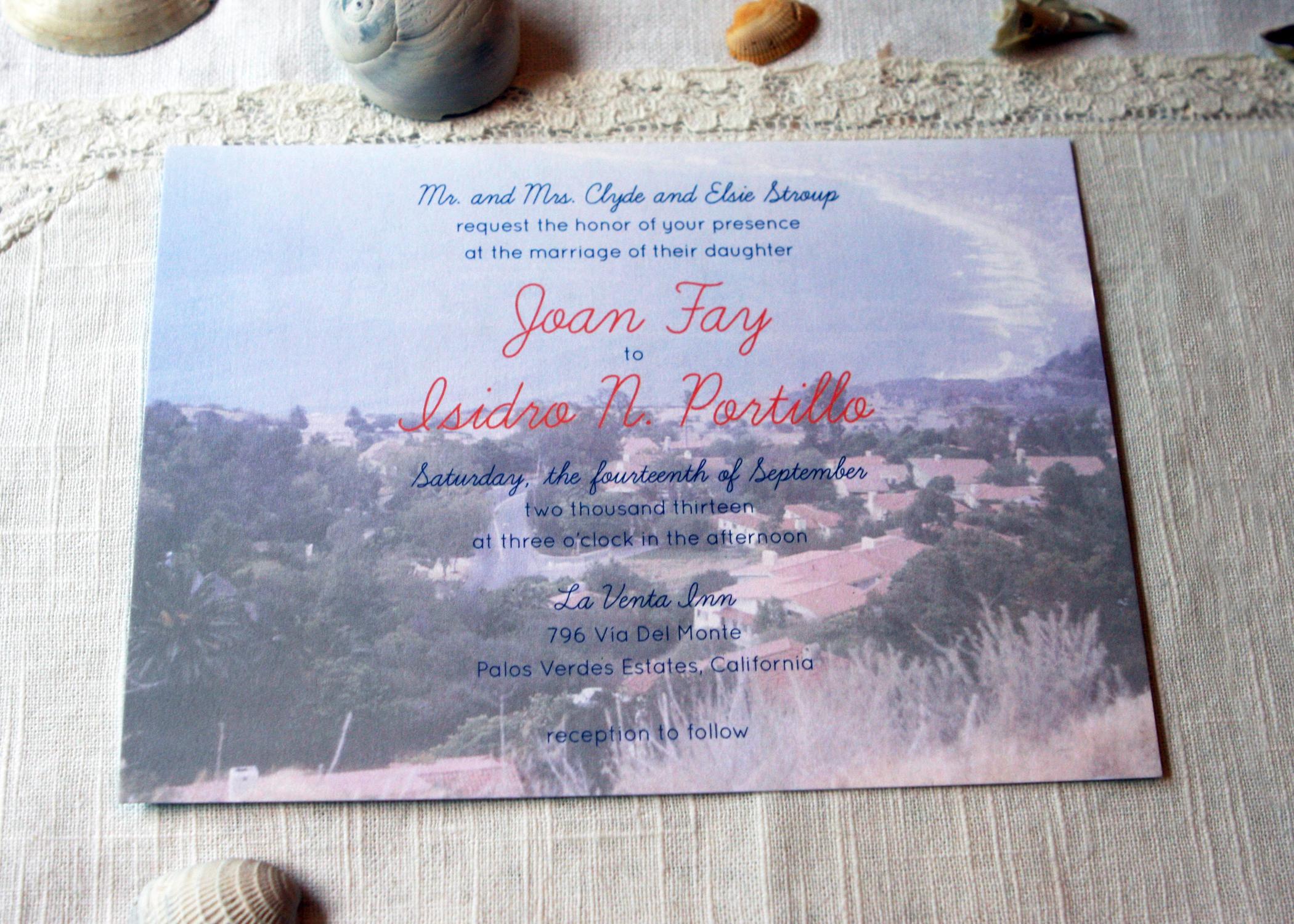 Heritage Invitation