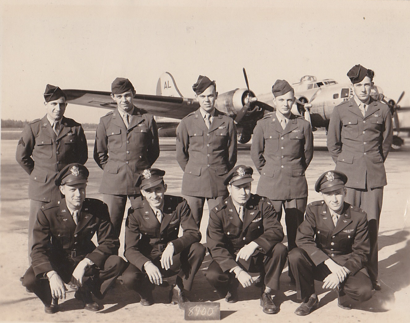 My grandfather, Lt. William A. Cannon, is at the bottom left.