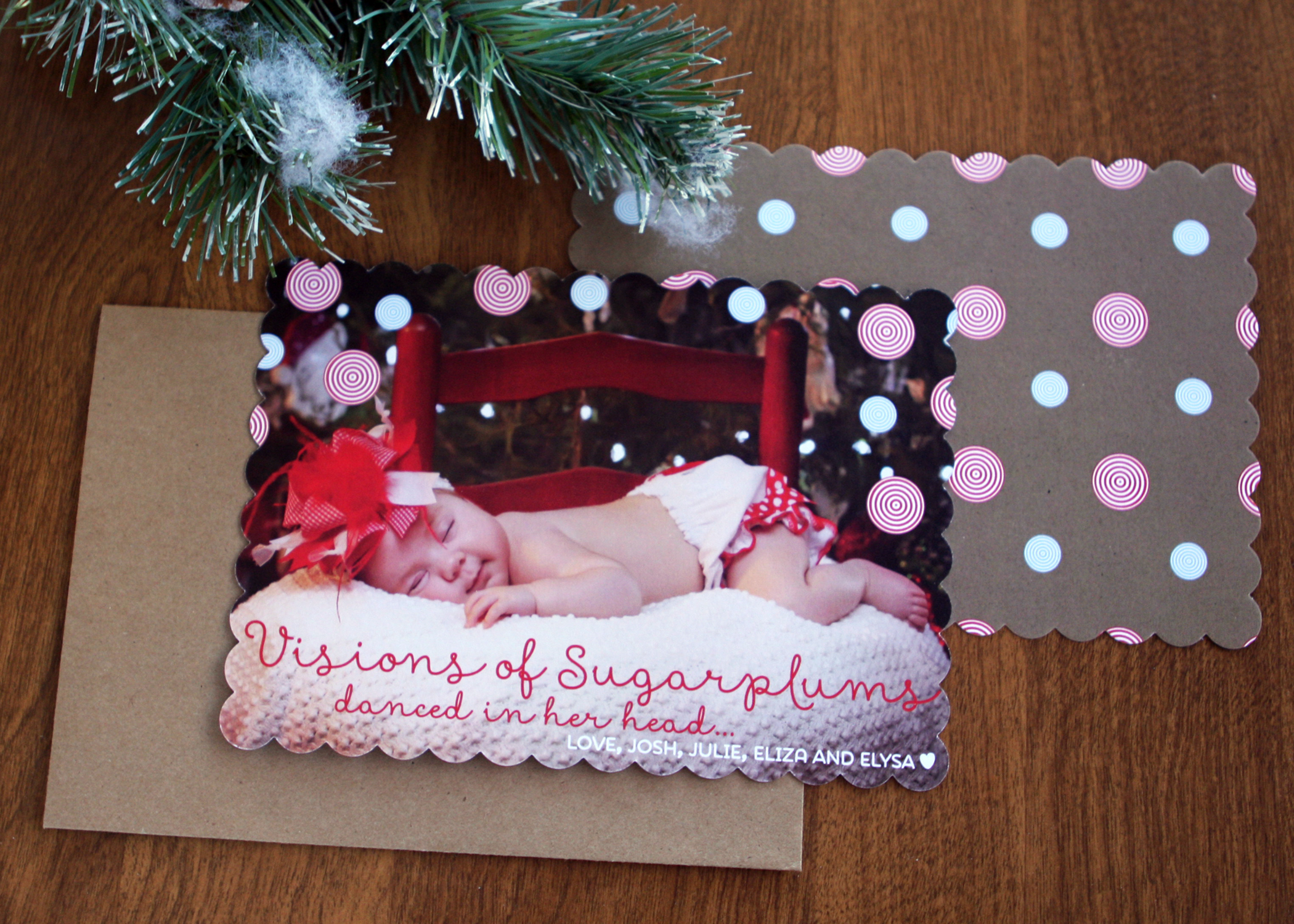Elysa Christmas Card