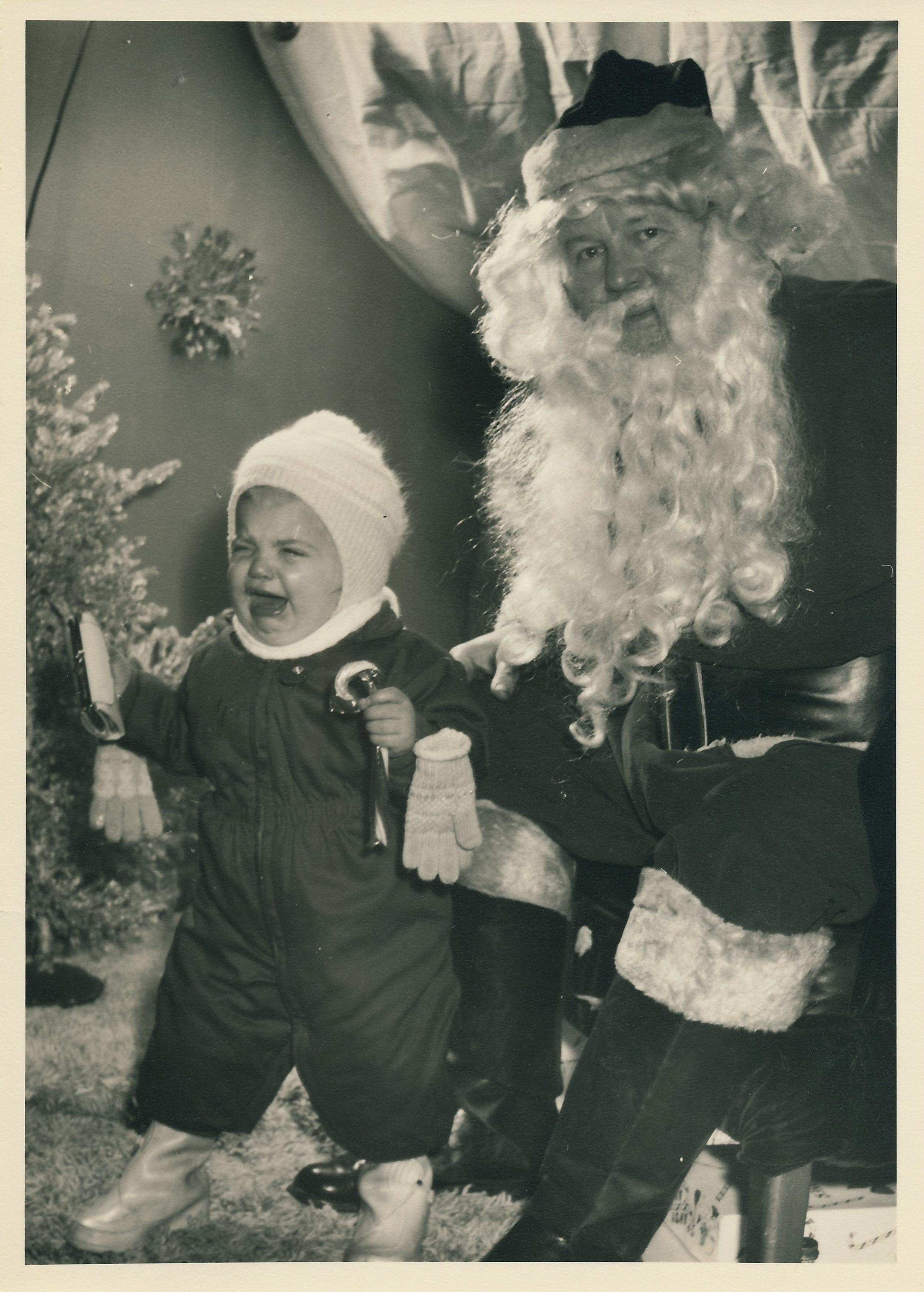julie and santa