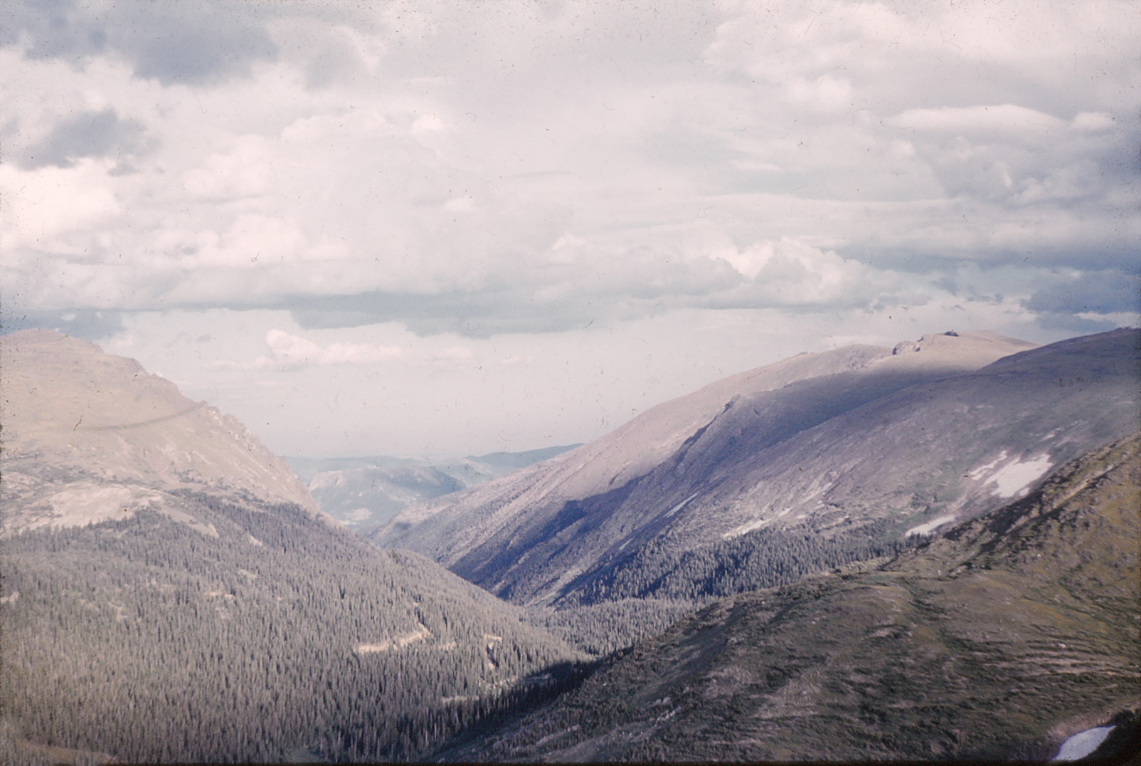 Yellowstone National Park around 1960.
