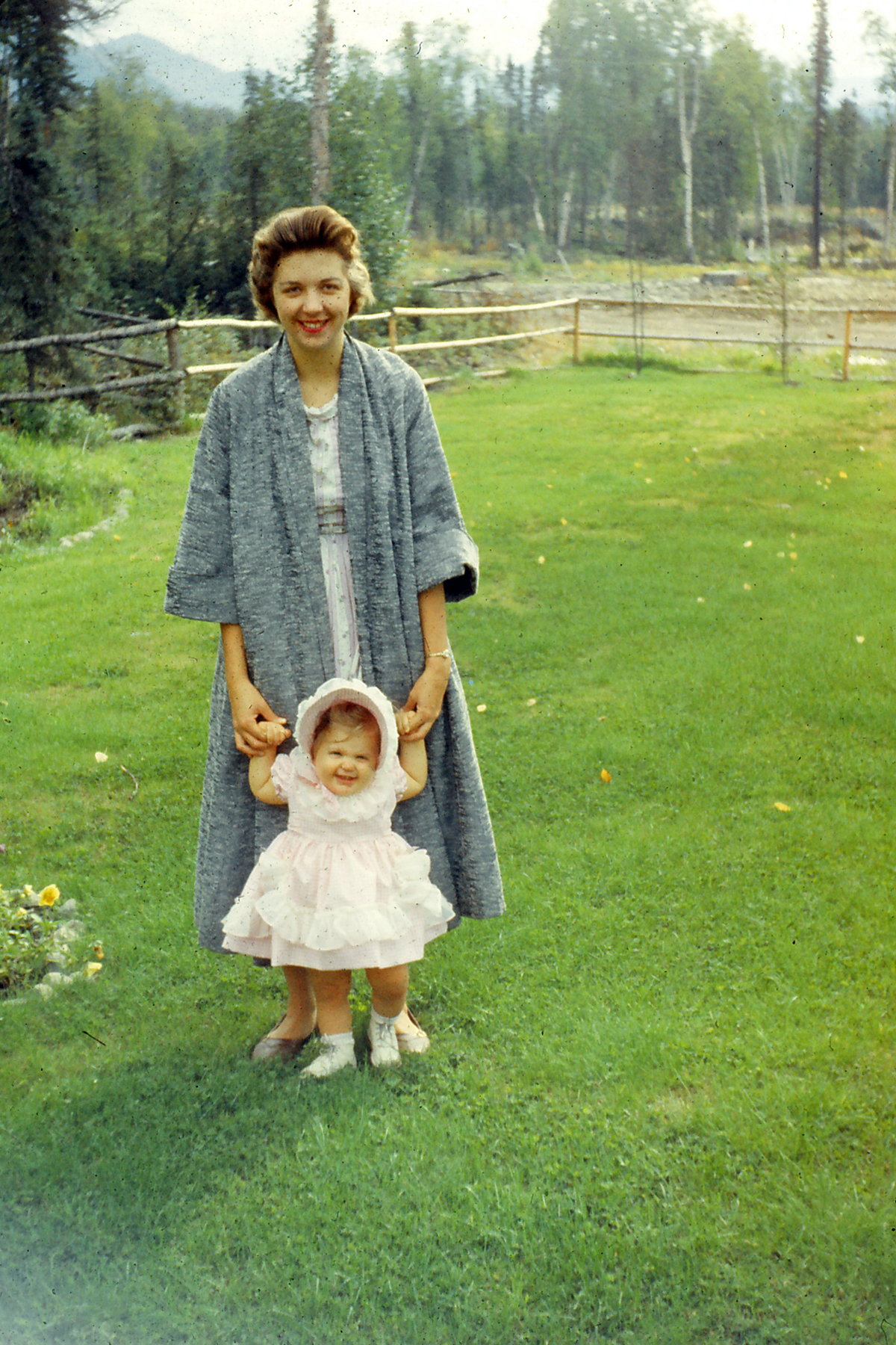 My mother Julie and grandmother Joan.