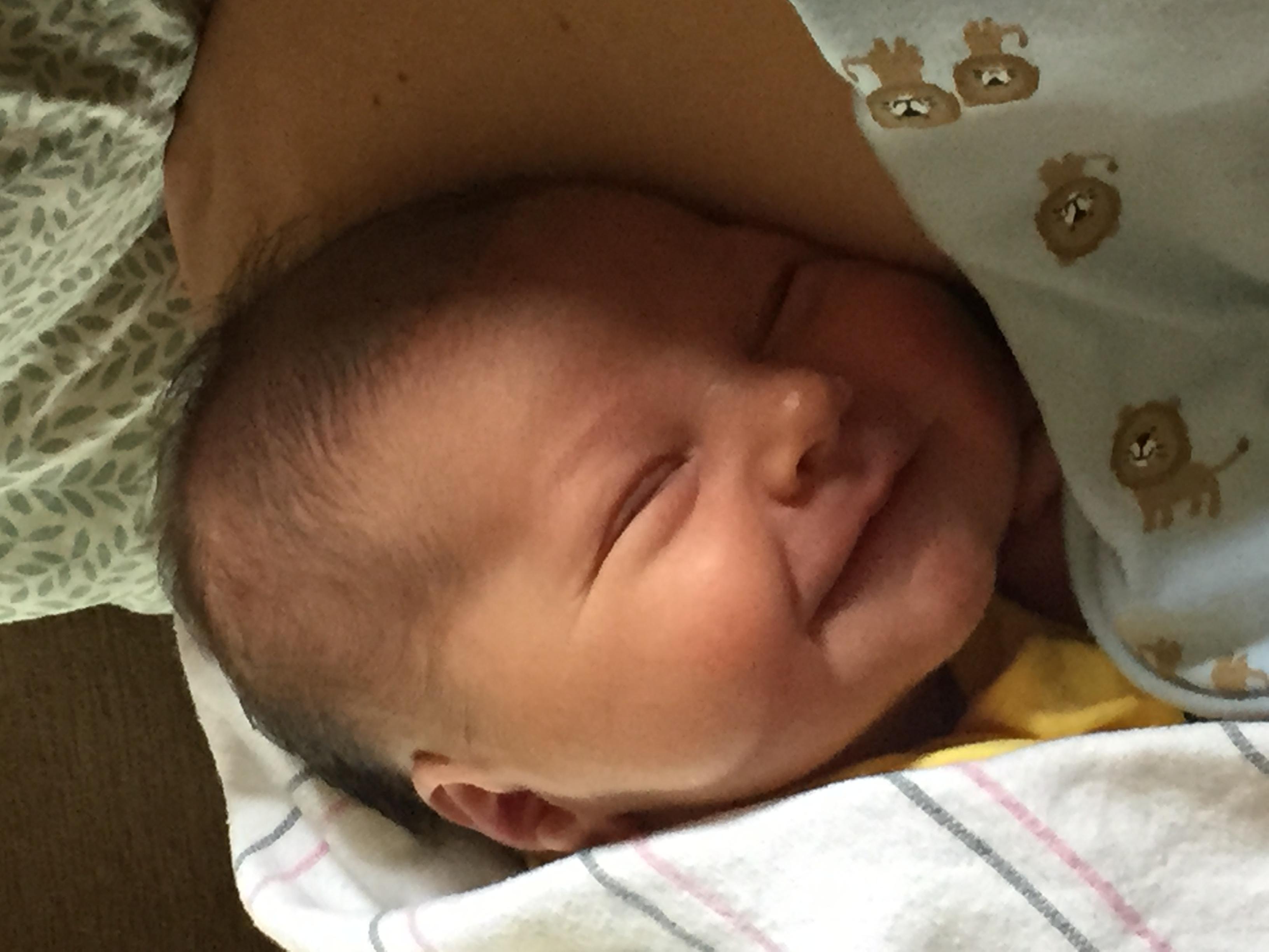 hudson smiling