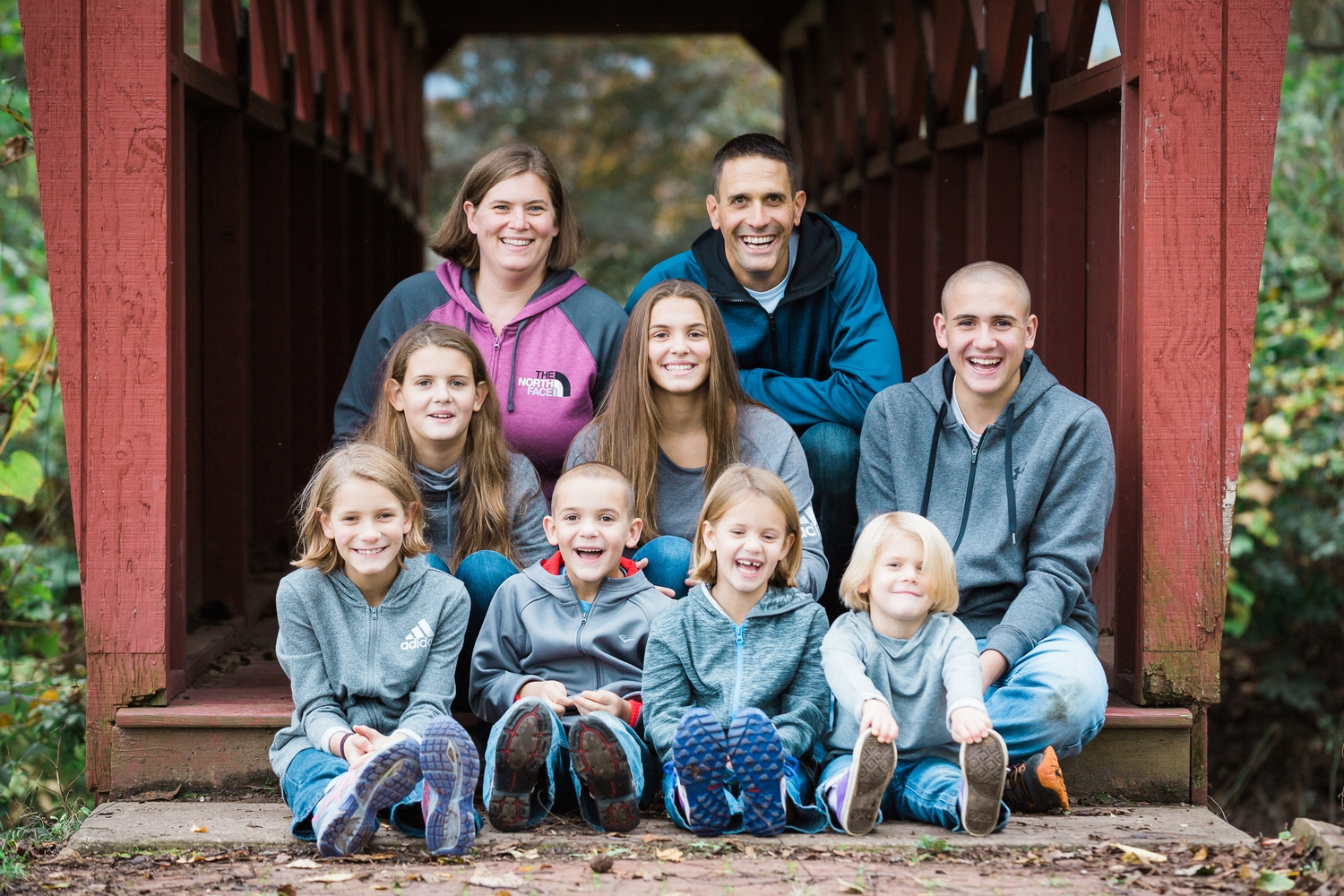 Associate Pastor of Youth and Family - Steve Halstead and family