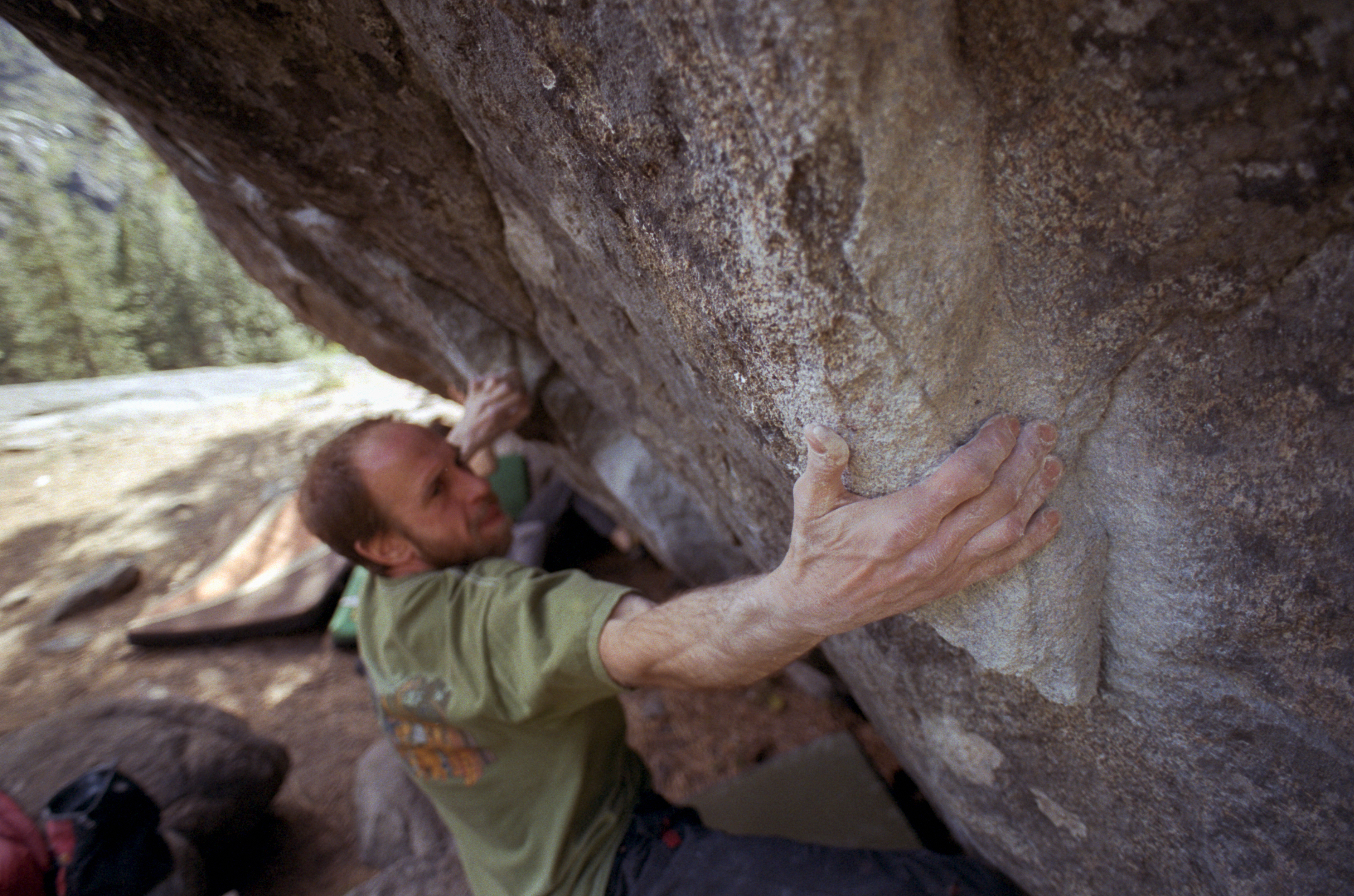 Lamont, working out the balancy moves on Cruise Control, V6.