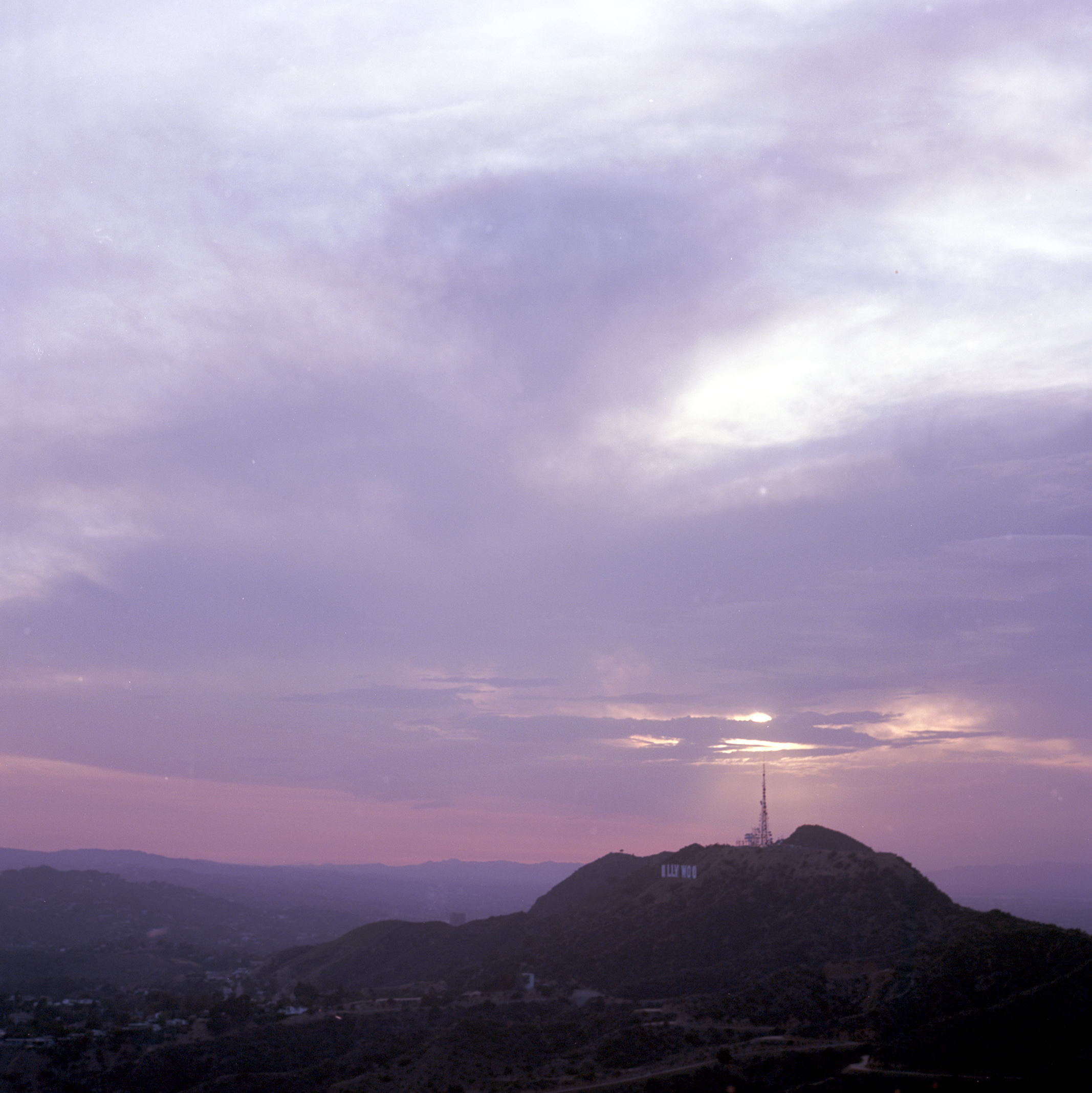 Sunset at Griffith Park
