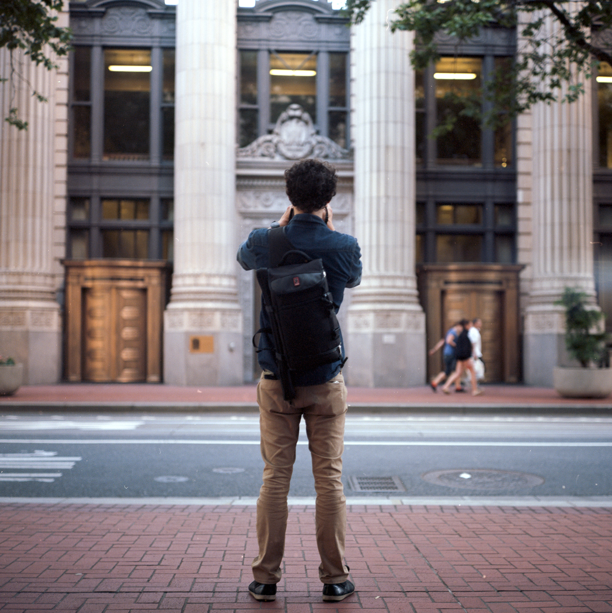 Seth, a fellow photographer, taken a photo of the US National Bank, downtown Portland, OR