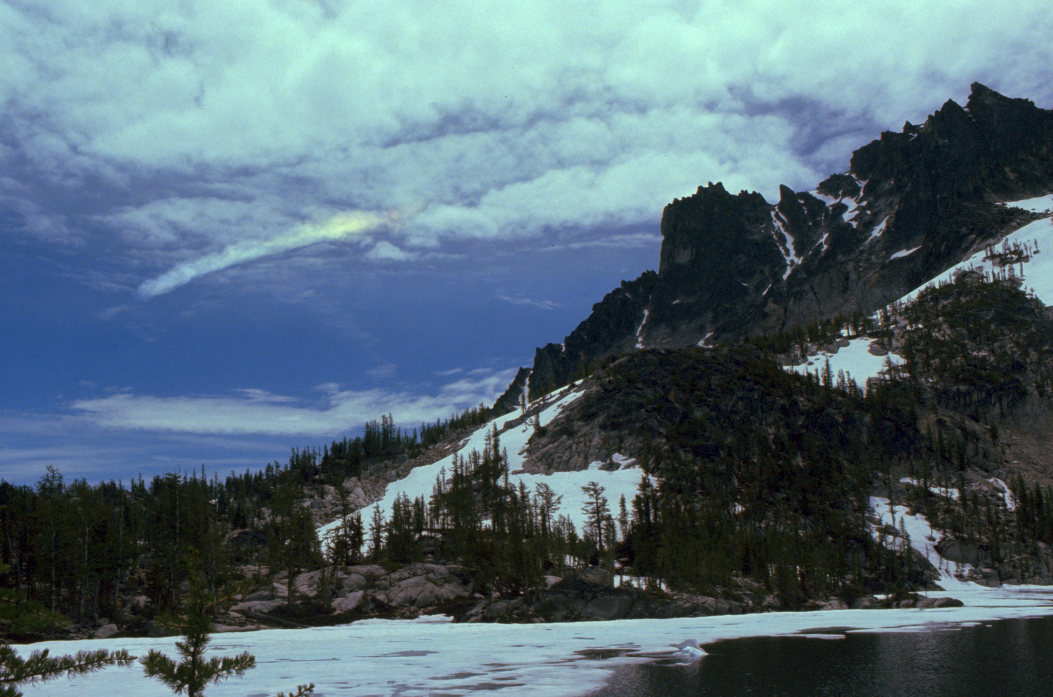 Rainbow over Leprechaun Lake