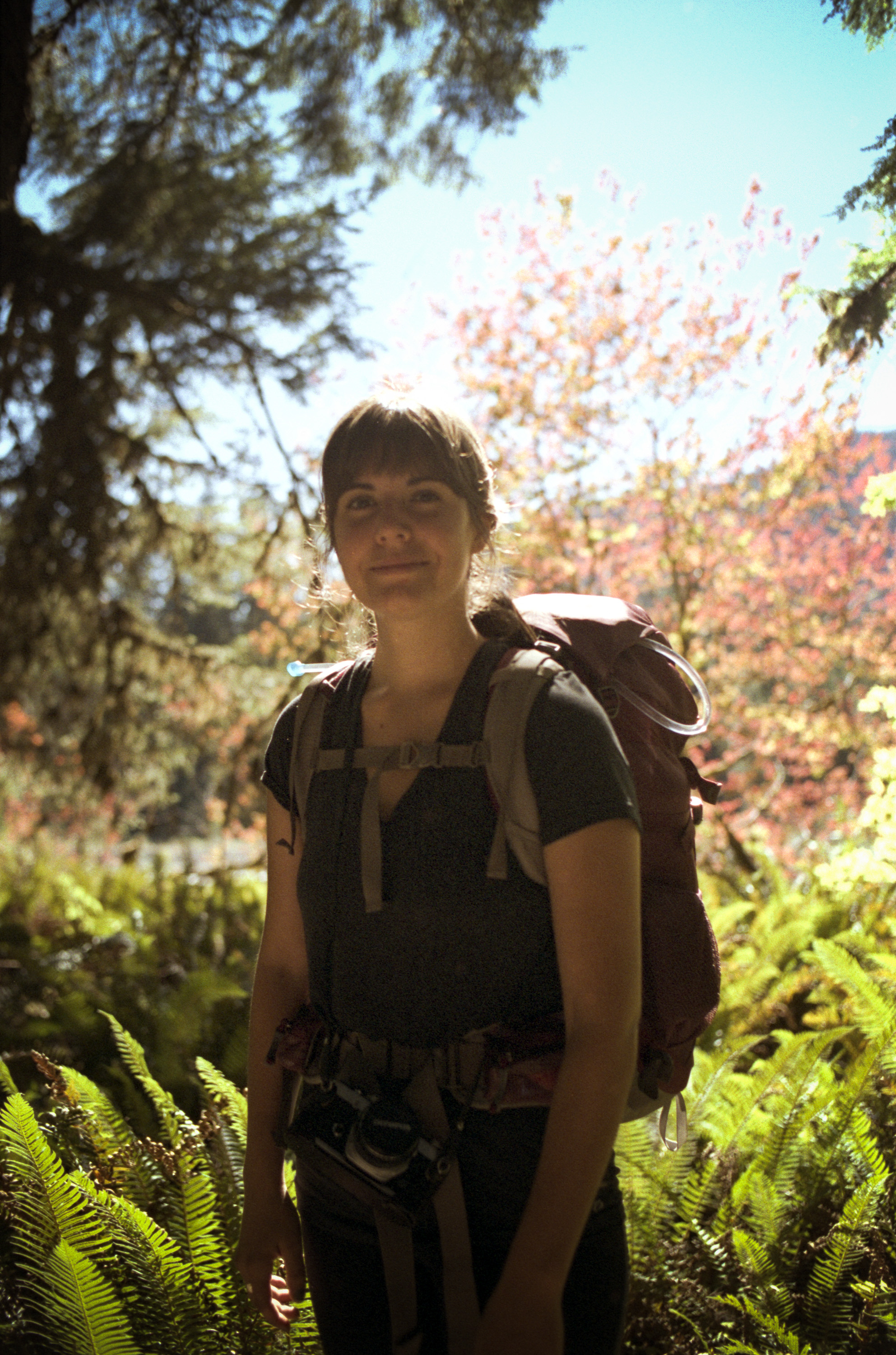 Hanna, Backpacker