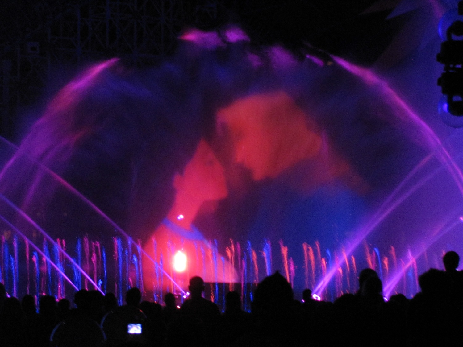 Pocahontas in Fantasmic! at Disney's Hollywood Studios