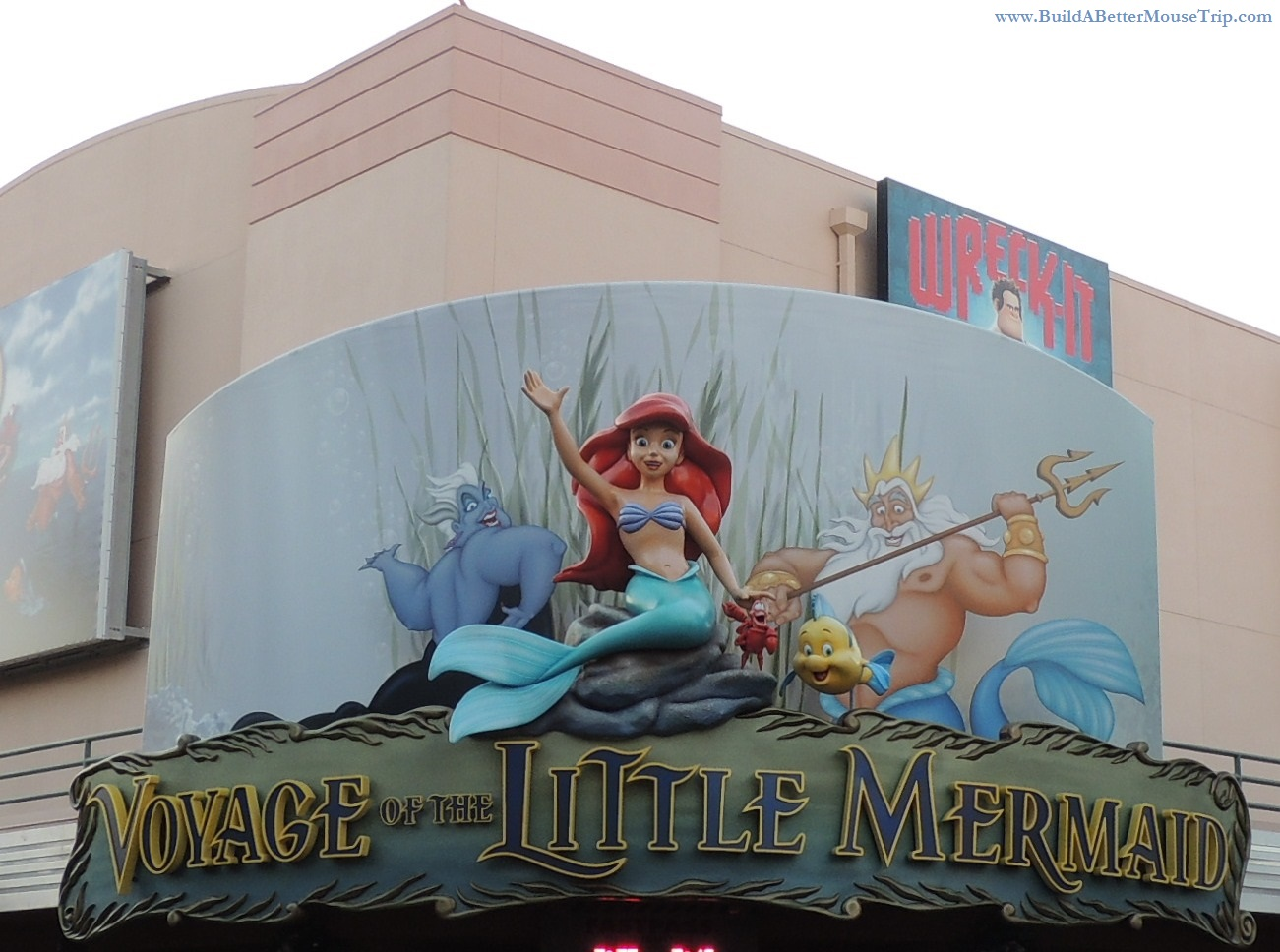 Voyage of the Little Mermaid, a live show offered several times daily in Disney's Hollywood Studios at Disney World.