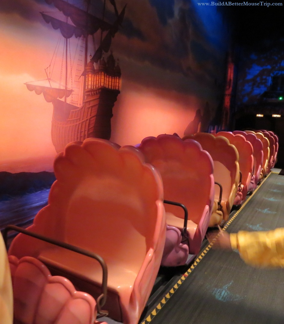 Under the Sea - Journey of the Little Mermaid - a gentle ride appropriate for all ages in the Magic Kingdom at Disney World.