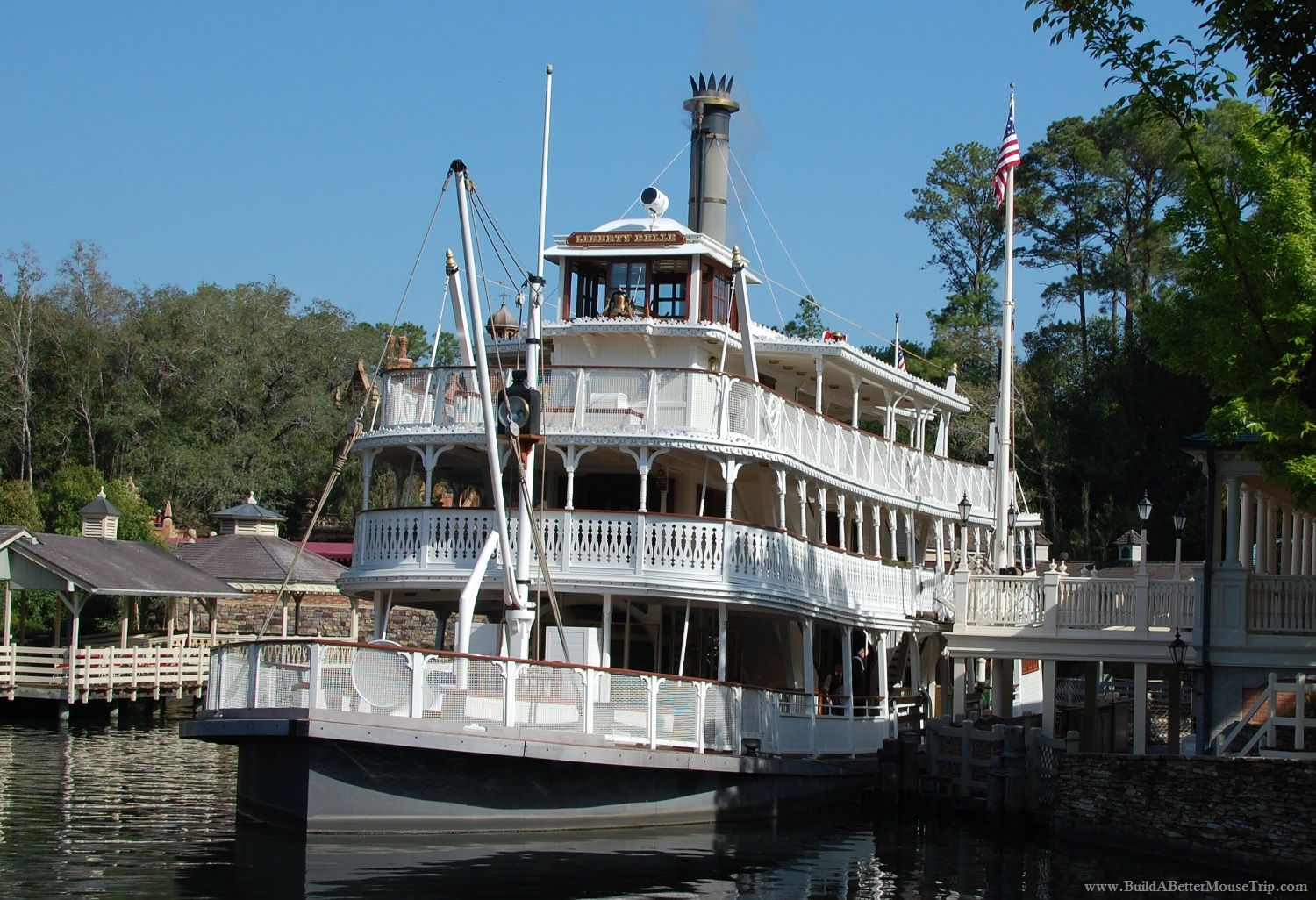 Liberty Belle - Liberty Square Riverboat in the Magic Kingdom at Disney World.