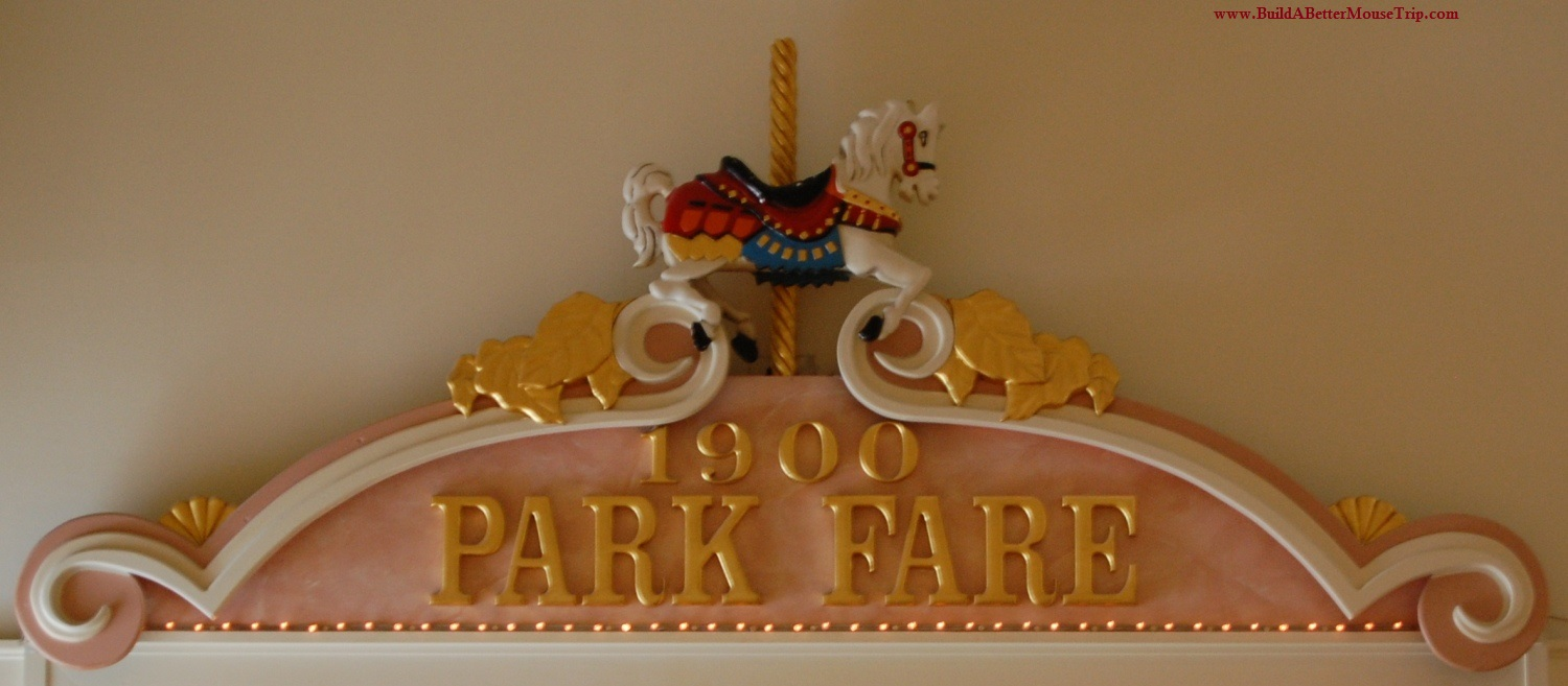1900 Park Fare at Disney's Grand Floridian Resort (Disney World) is home to Cinderella's Happily Ever After Character dinner, featuring Cinderella, Prince Charming, the Stepmother & stepsisters.