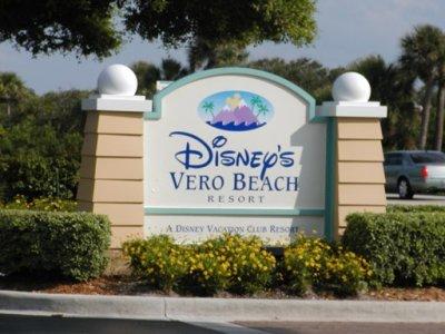 Disney's Vero Beach Sign