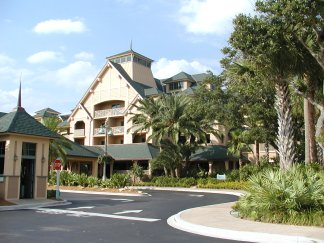 Entrance to Disney's Vero Beach Resort