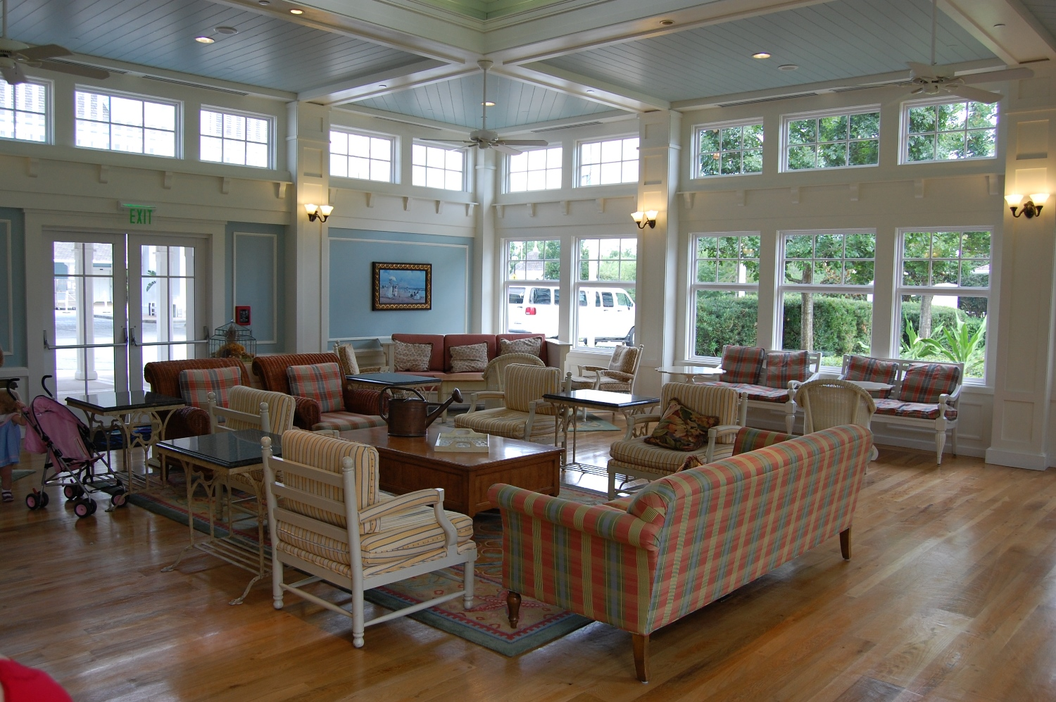 The solarium is a great place to relax and unwind and is open to all guests