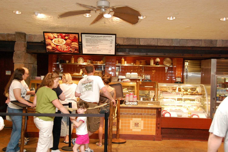 Roaring Forks restaurant at Disney's Wilderness Lodge