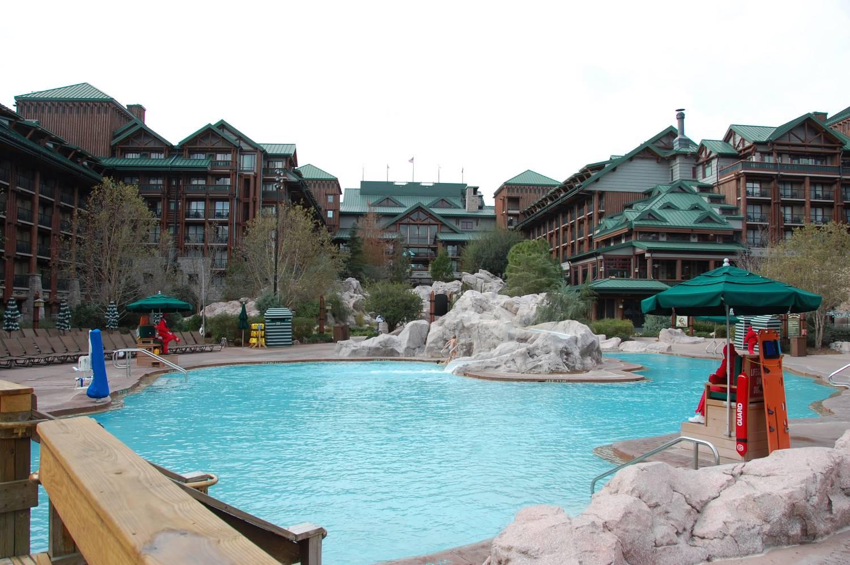 Disney's Wilderness Lodge Pool - Disney World.