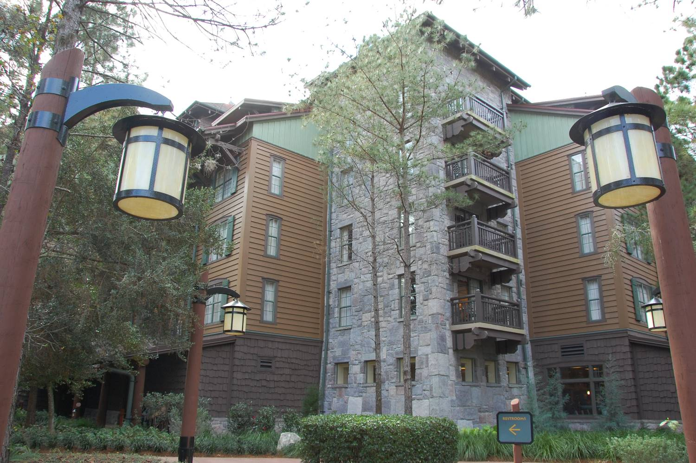 Villas at Disney's Wilderness Lodge building - Disney World.