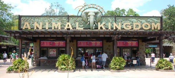 Healthy food options at Disney's Animal Kingdom park - Walt Disney World Resort.