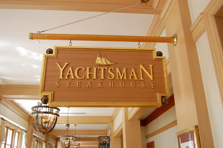 Yachtsman Steakhouse, a fine dining restaurant in Disney's Yacht Club hotel at the Walt Disney World resort.