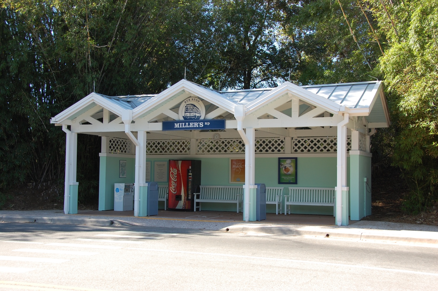 Disney's Old Key West Bus Transportation