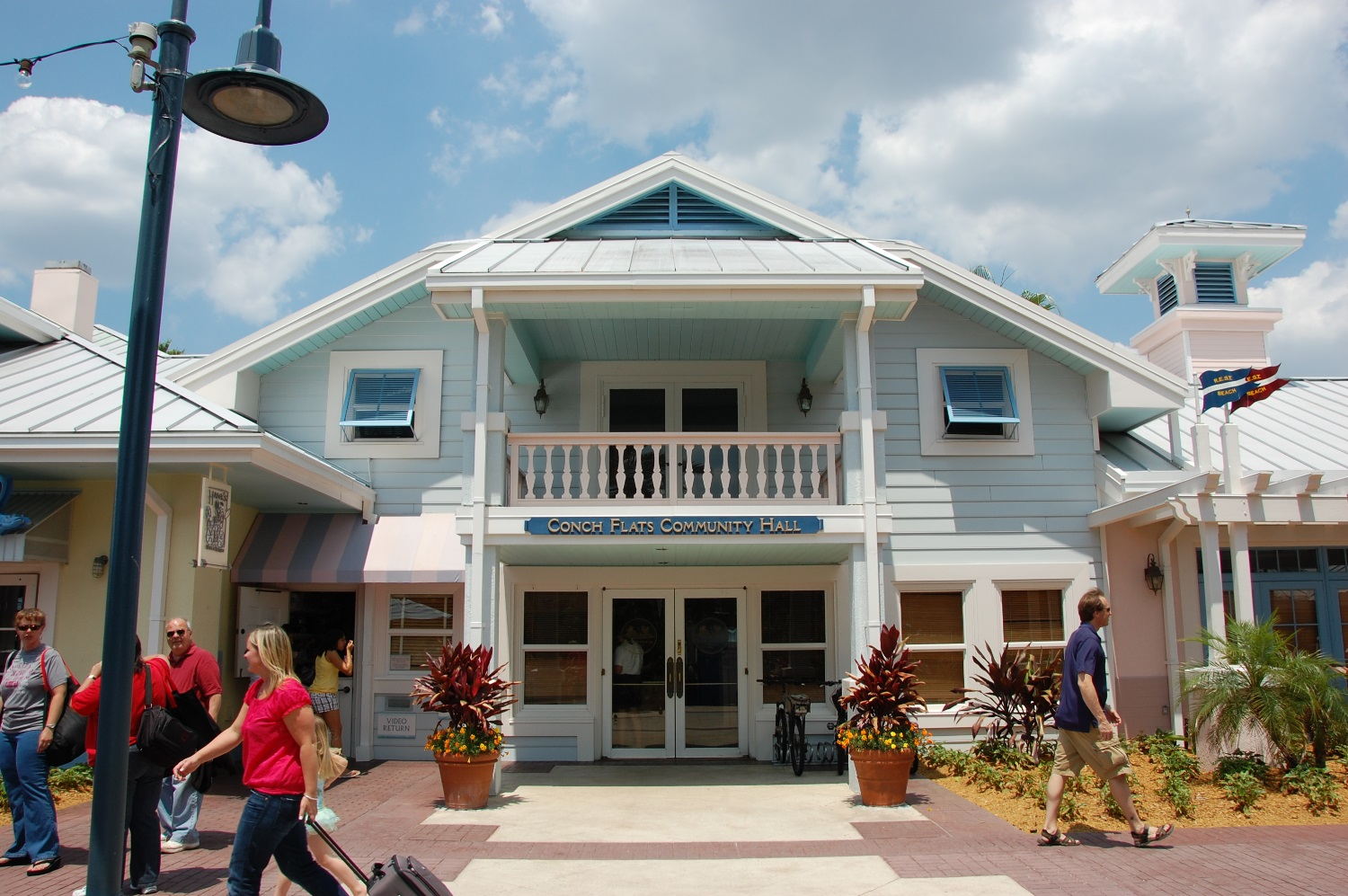 Conche Flats Community Hall at Disney's Old Key West Resort