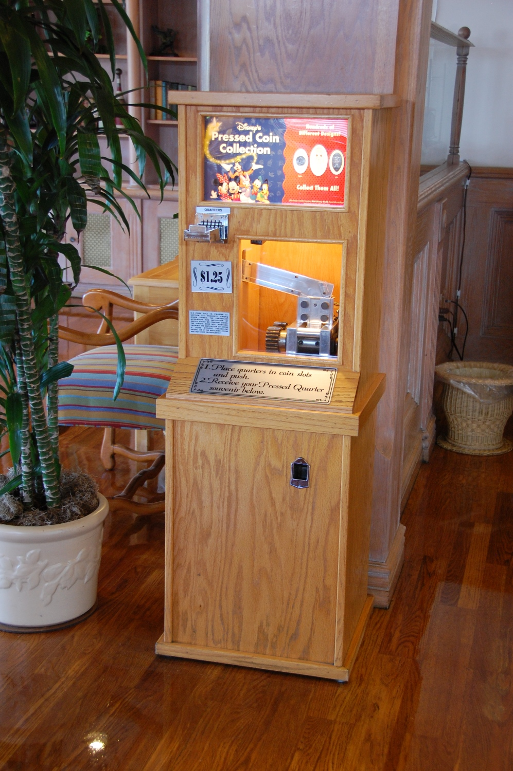 Old Key West Pressed Penny Machine