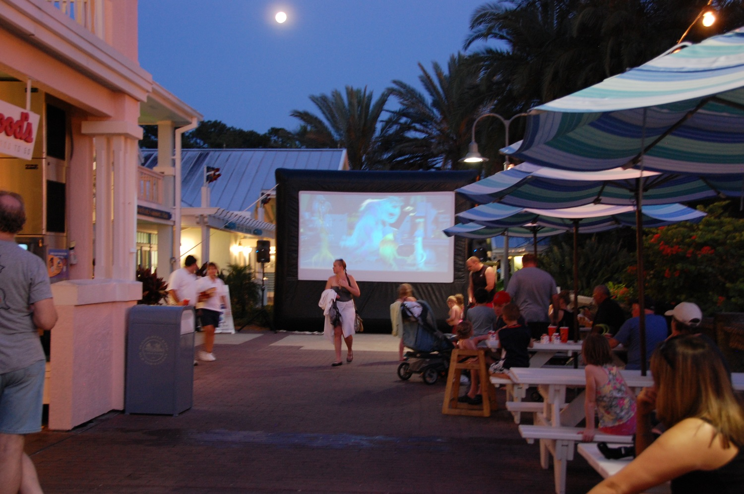 Old Key West Outdoor Movie