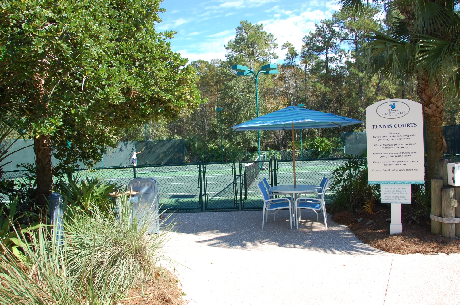 Old Key West Tennis Court