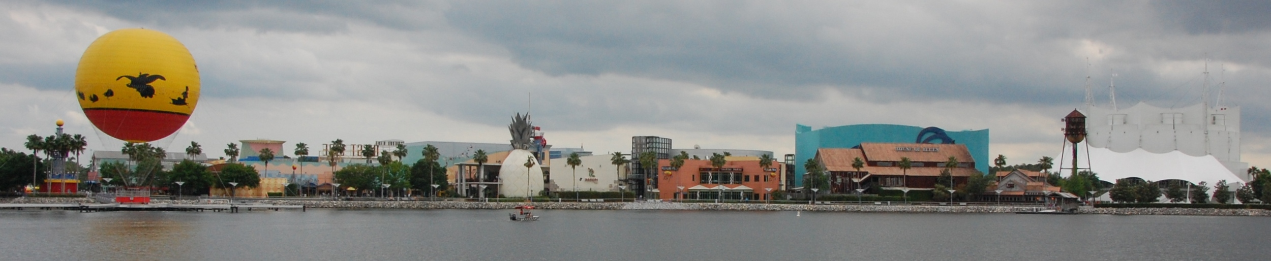 Downtown Disney is a short walk or boat ride away from Saratoga Springs