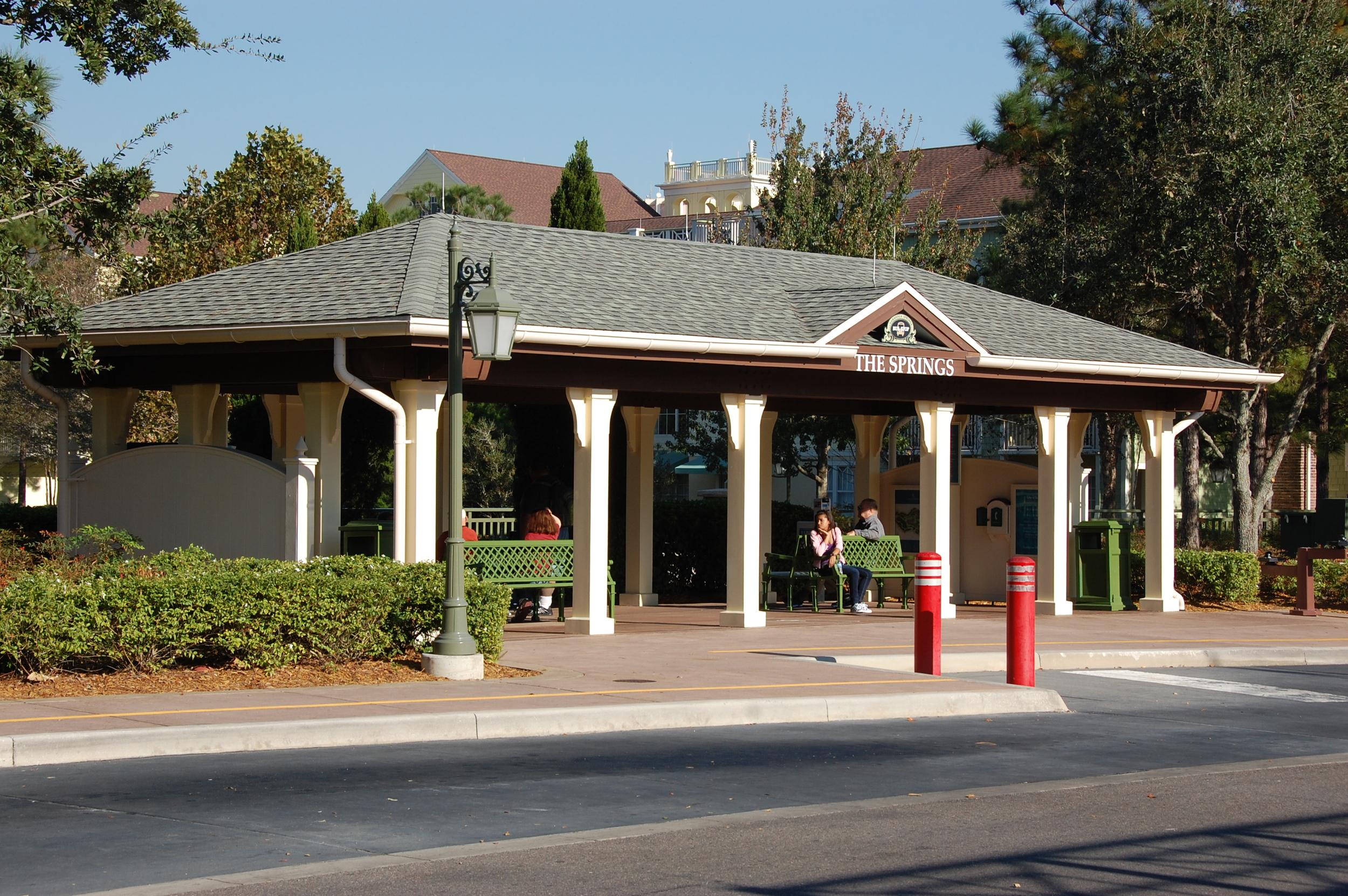 Disney's Saratoga Springs Bus Transportation
